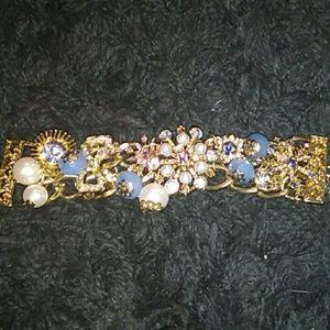 Betsey Johnson Charmed Toggle Bracelet